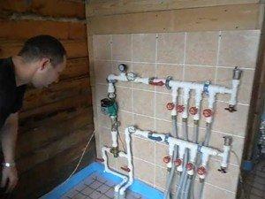 Система коллекторного отопления