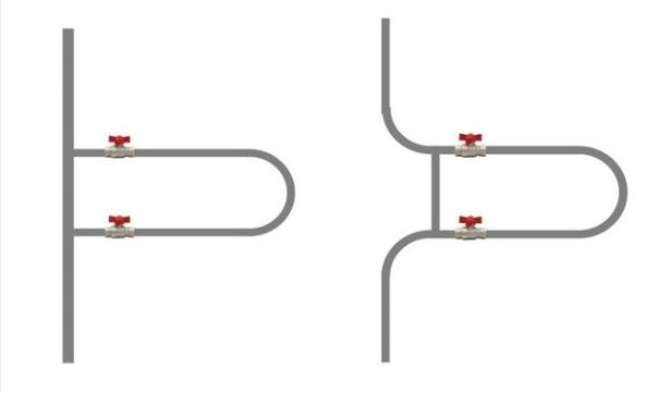 Примеры подключения байпаса