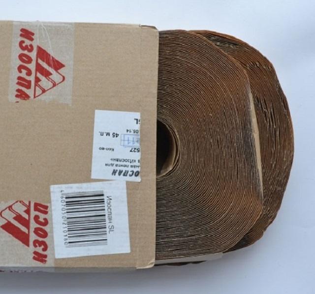 Бутил-каучуковый двухсторонний скотч «Изоспан».