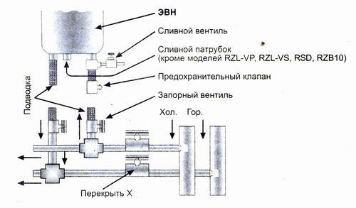 Вторая схема подключения бойлера