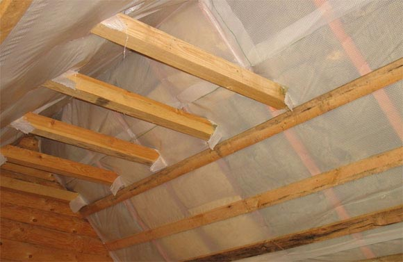 устройство пароизоляции крыши