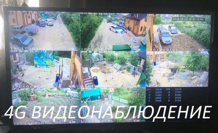 4G Видеонаблюдение - камеры, роутер, усилитель сигнала