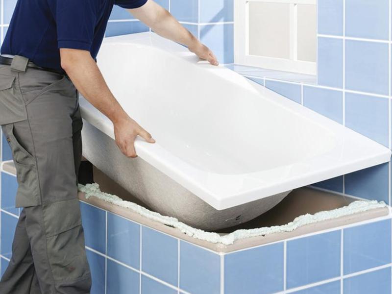 Легкость акриловых ванн