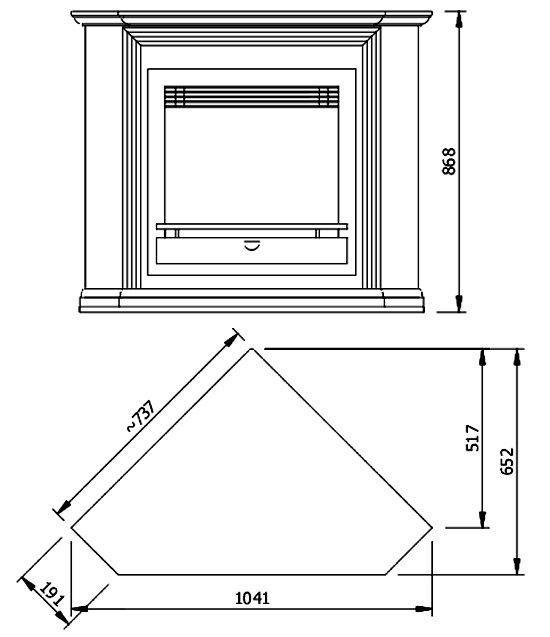 Схема углового портала