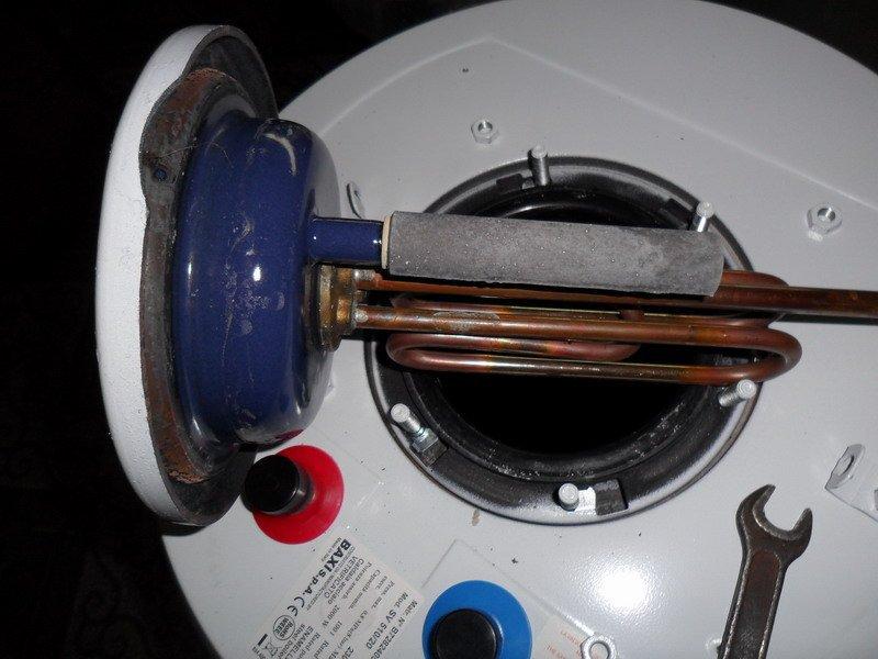 как поменять тэн на водонагревателе