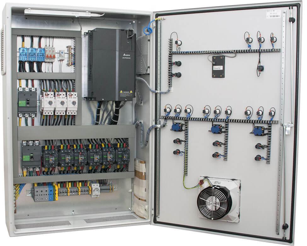 Сферы применения шкафов управления на базе частотника