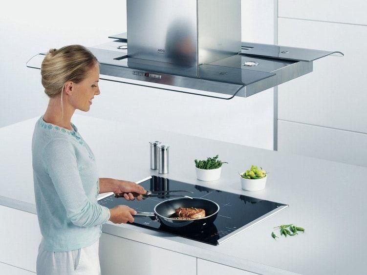 Вытяжка для электрической плиты