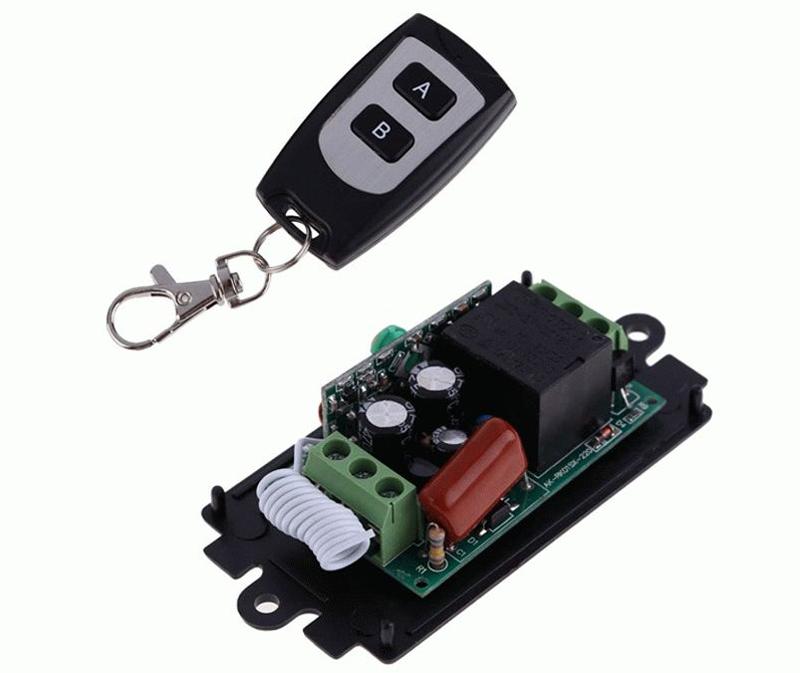 Простой одноканальный выключатель для одного прибора или серии однообразных