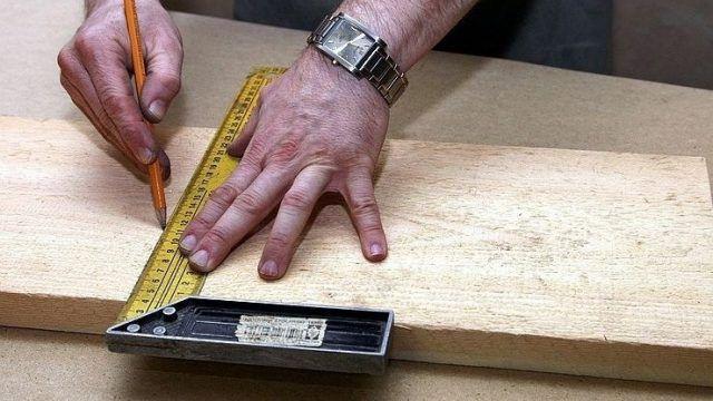 Схема переносится на деревянные заготовки