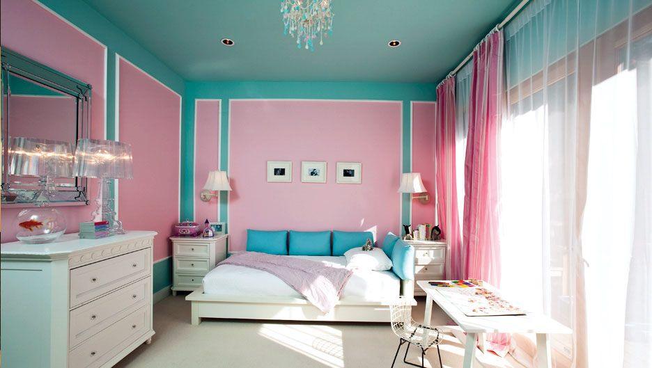 Сочетание оттенков с современной спальне
