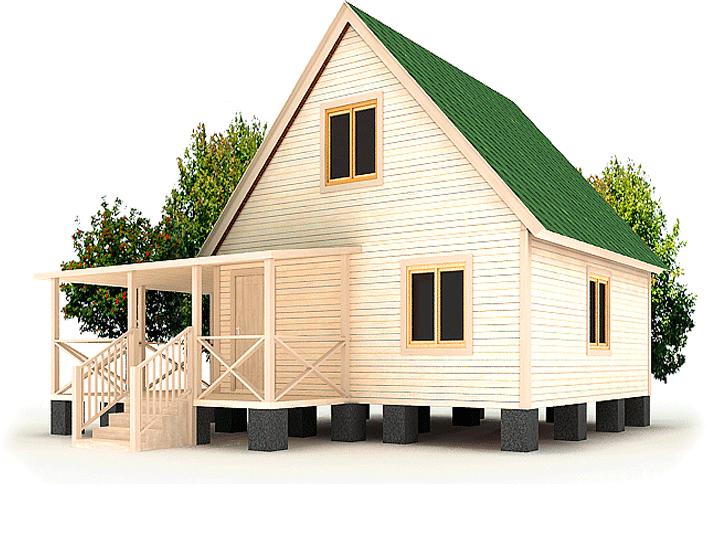 Отделка фасада бани деревянной вагонкой