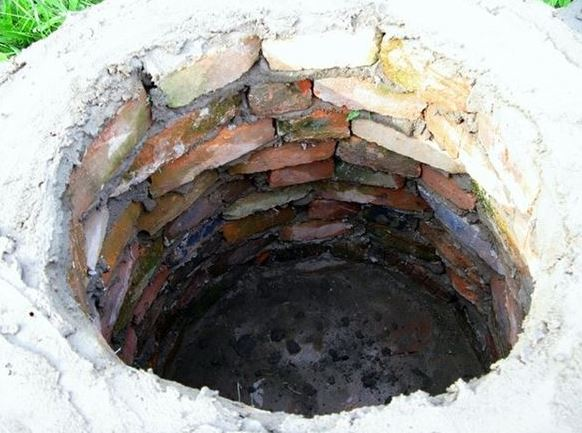 Фото ямного кирпичного тандыра