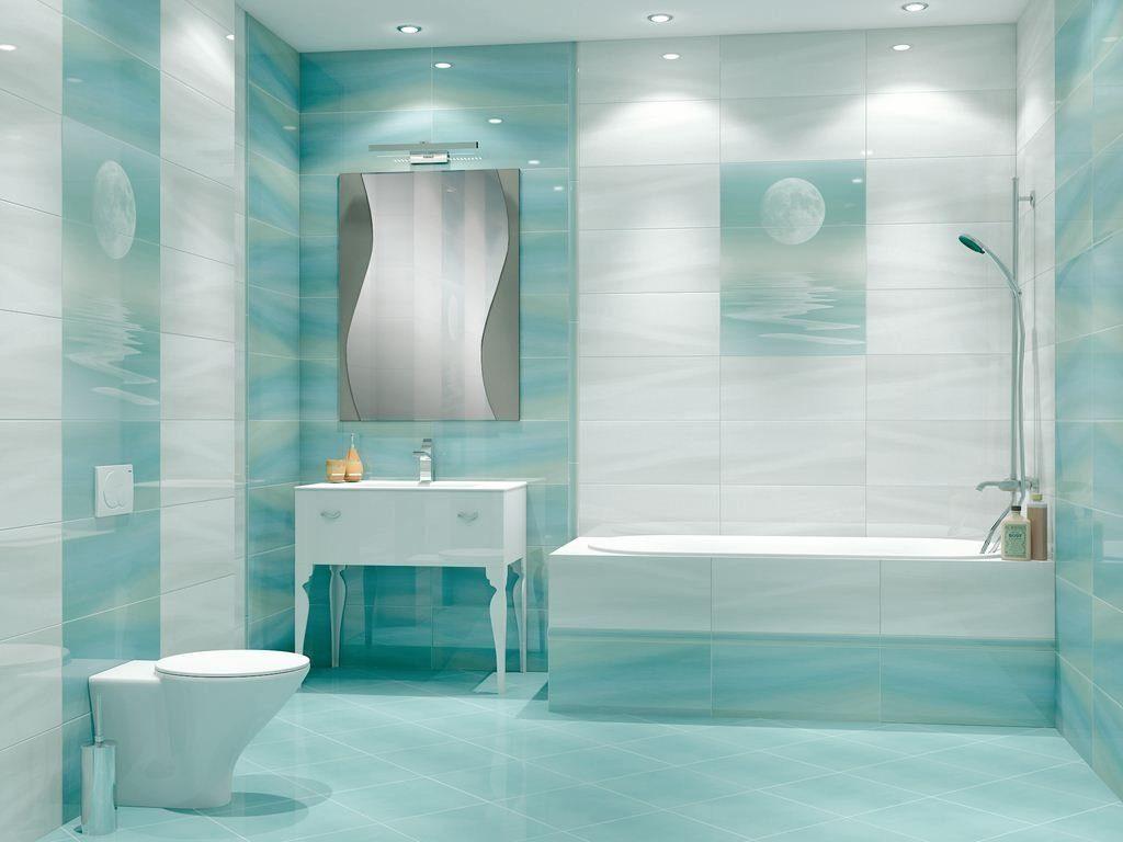Декор ванной комнаты плитка освещение