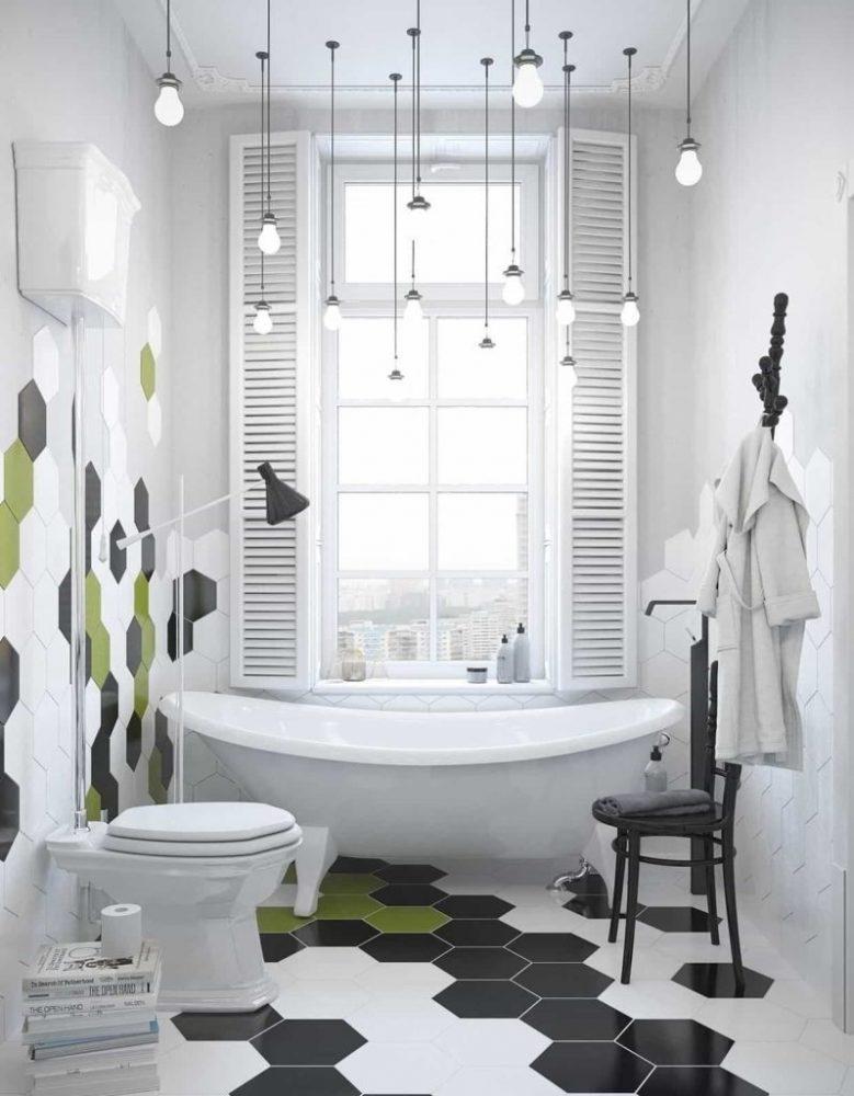 Декор ванной комнаты скандинавский стиль