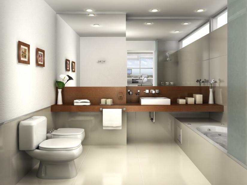 Декор ванной комнаты стиль минимализм