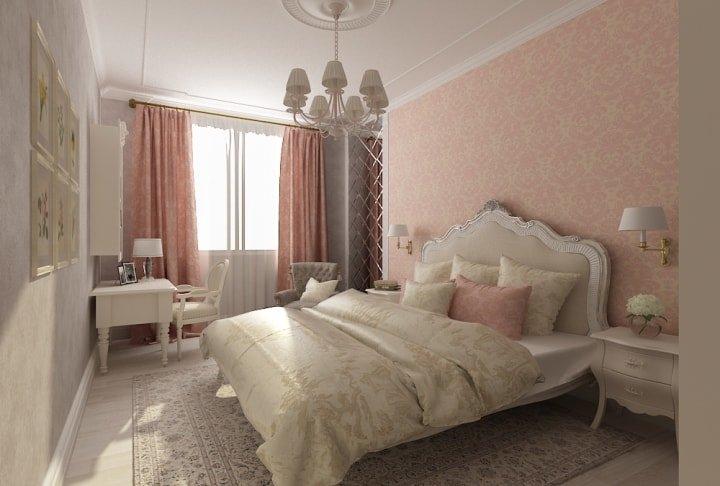 Классика в спальне