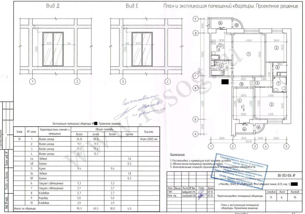 Объединение балкона с кухней в панельном доме