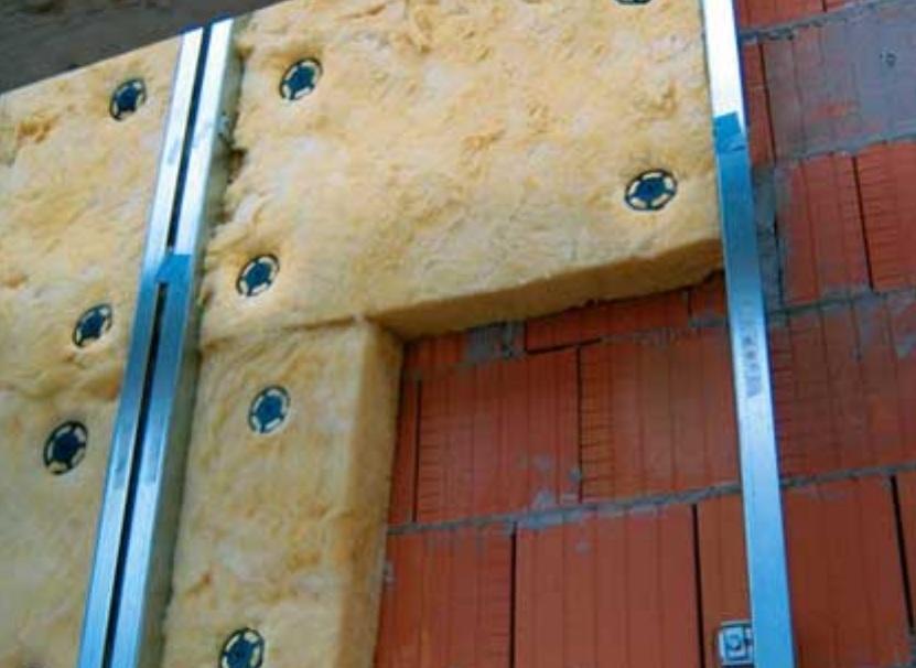 теплоизоляция фасада дома