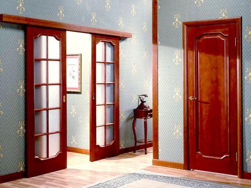 Какую дверь выбрать в зал: варианты на фото