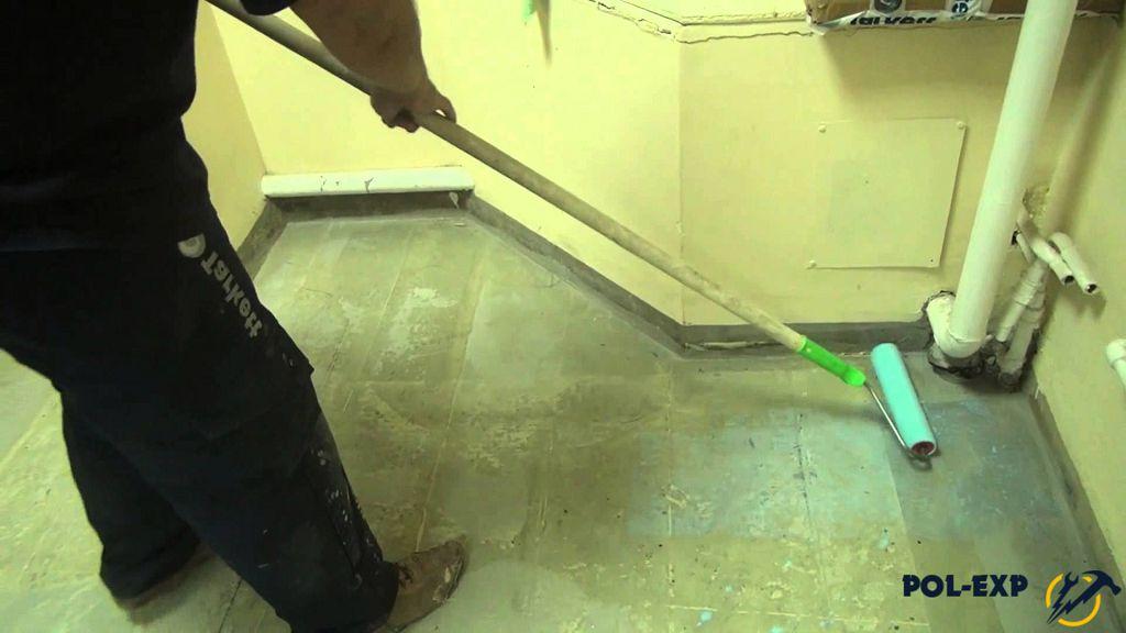 Грунтовка перед стяжкой для бетонного пола