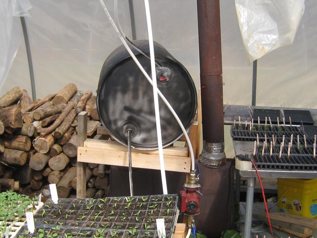 Отопление теплицы при помощи газовой горелки