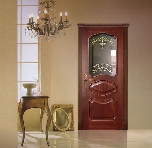 Выбираем для интерьера резные двери из дерева