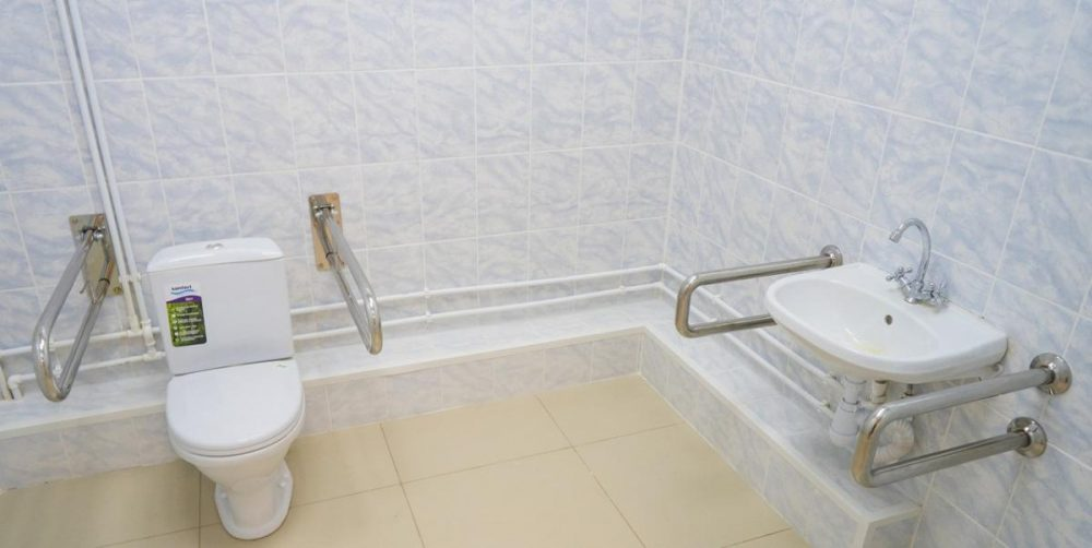 Поручни для инвалидов в ванной
