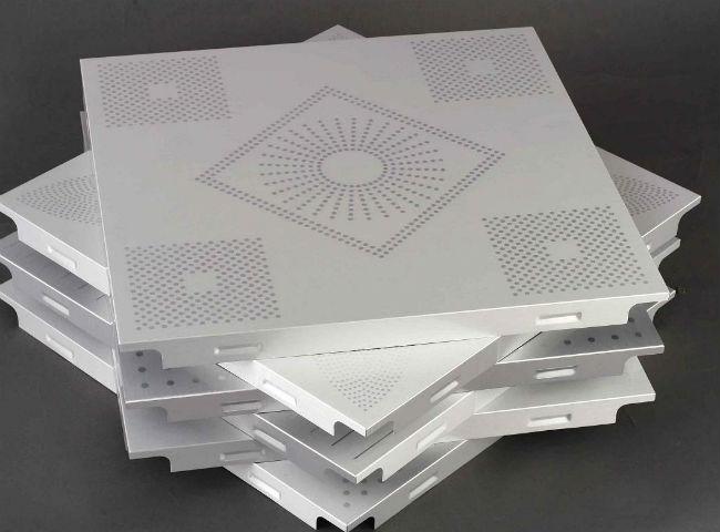 Современная пластиковая потолочная плитка