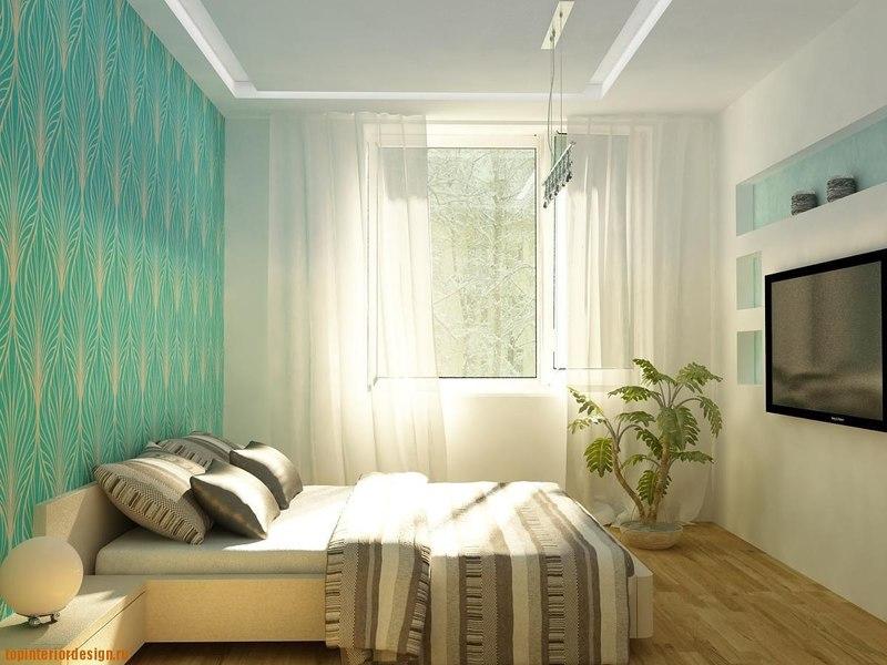 Ремонты в спальне проект