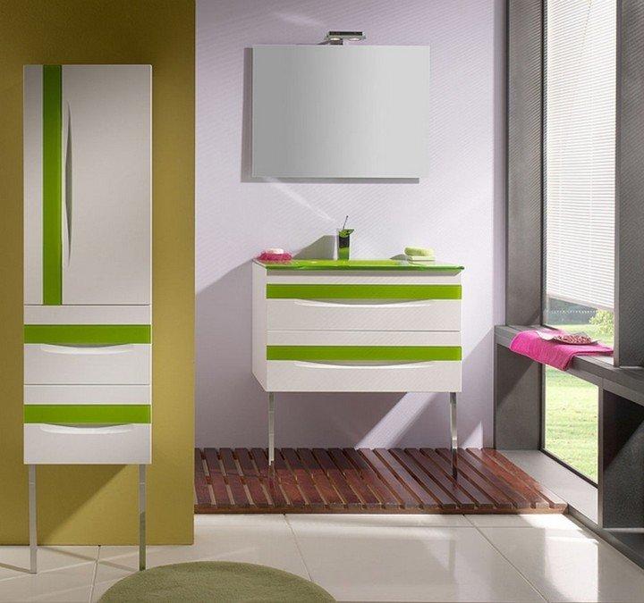 Пластиковая мебель для ванной