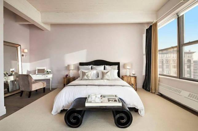 Кортни Кардашян спальня