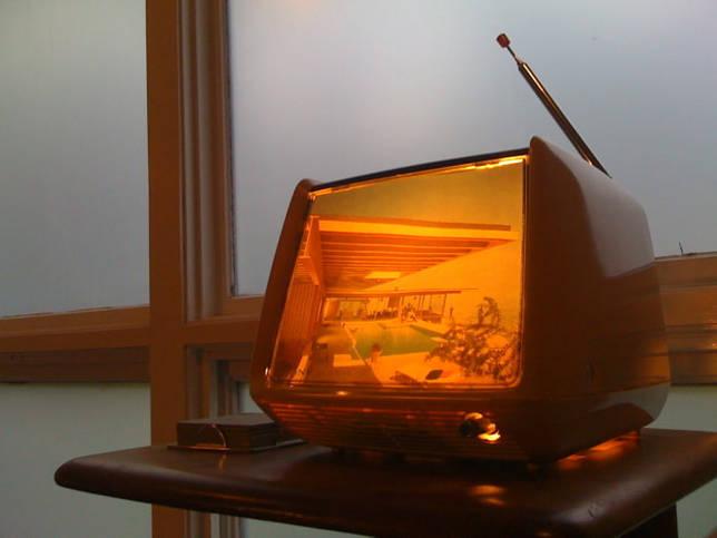 Светильник из старого телевизора