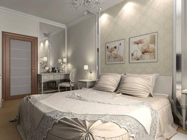 идея красивого декорирования дизайна спальни