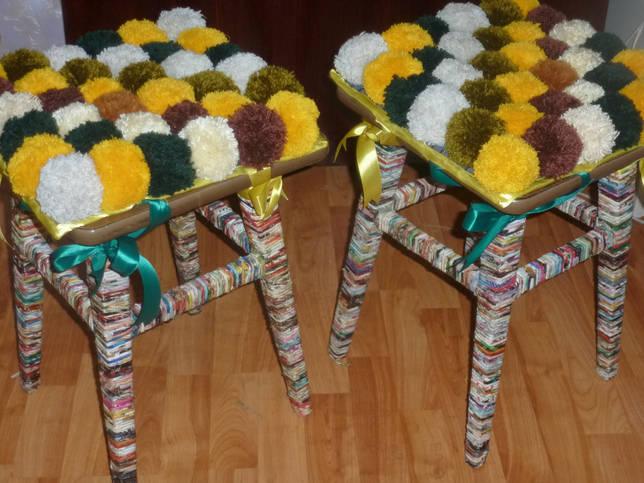 Чехлы на табуретки своими руками: выбор выкройки, материалов и инструментов