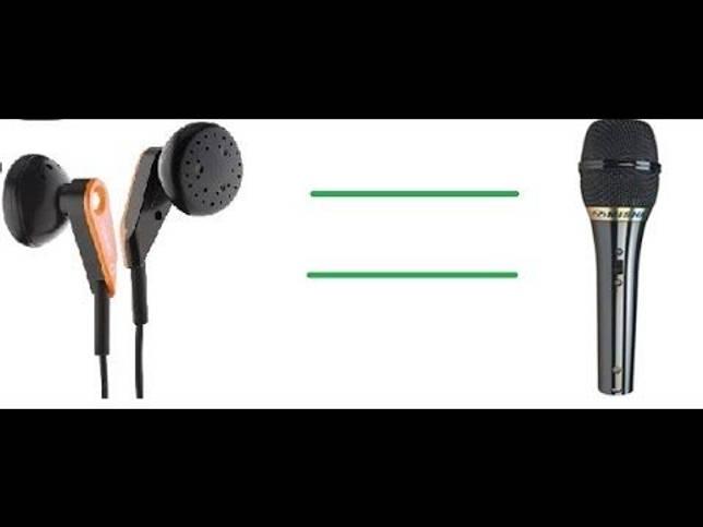 Микрофон из наушников