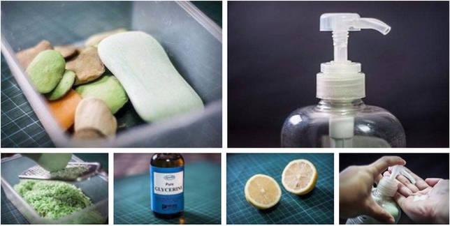 Готовим жидкое мыло