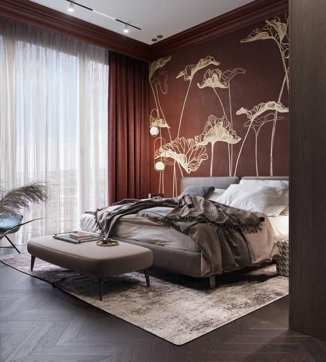 дизайн интерьера спальни фото 18