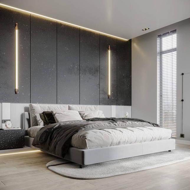 дизайн интерьера спальни фото 19