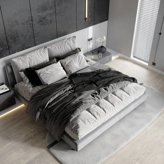 дизайн интерьера спальни фото 20