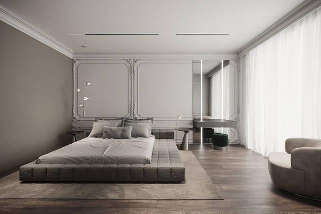 дизайн интерьера спальни фото 22