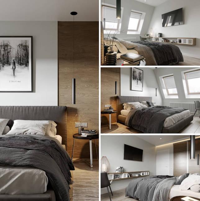 дизайн интерьера спальни фото 23