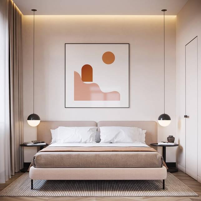 дизайн интерьера спальни фото 43