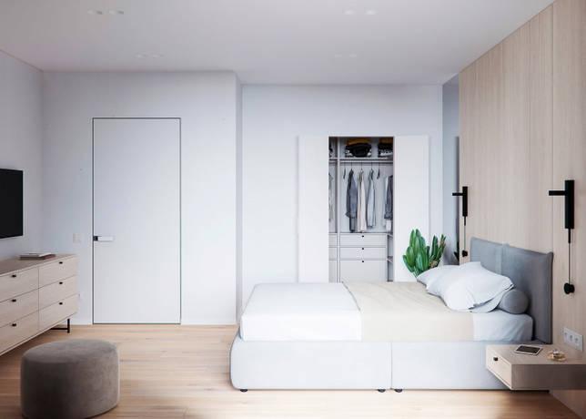 дизайн интерьера спальни фото 45