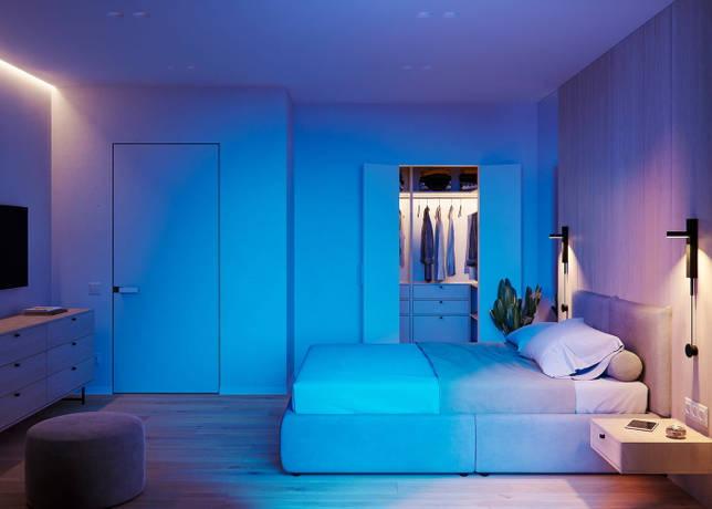 дизайн интерьера спальни фото 46