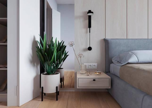 дизайн интерьера спальни фото 47
