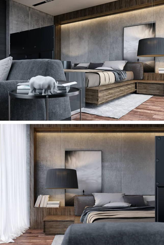 дизайн интерьера спальни фото 48
