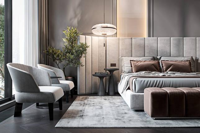 дизайн интерьера спальни фото 49