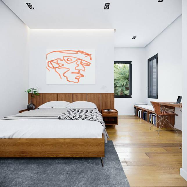 дизайн интерьера спальни фото 50