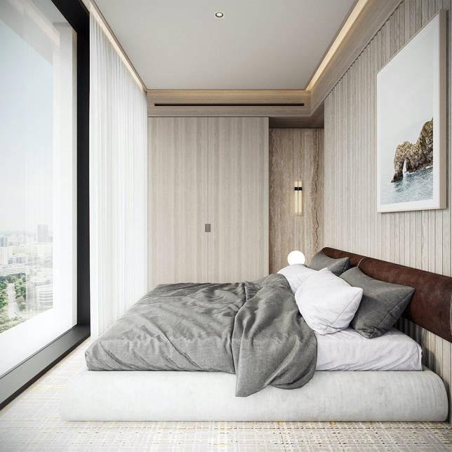 дизайн интерьера спальни фото 55
