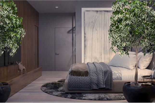 дизайн интерьера спальни фото 56
